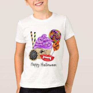 Petits gâteaux de Halloween et T-shirt de sucrerie