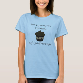 Petits gâteaux de Ninja T-shirt