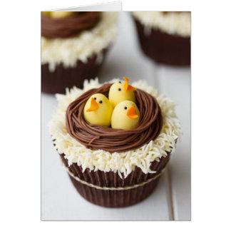 Petits gâteaux de Pâques Carte De Vœux
