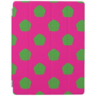 Petits gâteaux de point de polka dans le rose et protection iPad