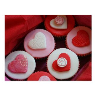 Petits gâteaux de Valentine Cartes Postales