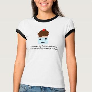 Petits gâteaux pour la sensibilisation sur t-shirt