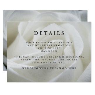 Petits groupes élégants d'invité de mariage de carton d'invitation 8,89 cm x 12,70 cm