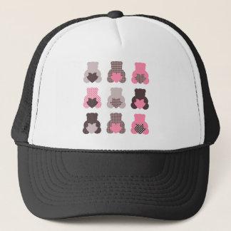 Petits nounours : nounours merveilleux casquettes de camionneur