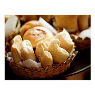 Petits pains de pâtisserie cartes postales