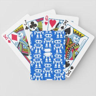 Petits robots jeux de cartes