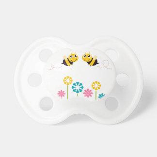 Petits T-shirts mignons extraordinaires d'abeilles Tétine Pour Bébé