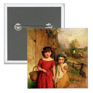 Petits villageois, 1869 badge