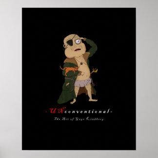 Peu conventionnel : Capitaine Fudge Poster