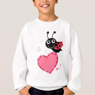 Peu d'abeille rouge de vol : CONCEPTION D'ENFANTS Sweatshirt