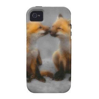 Peu d'amour de Fox Coques Case-Mate iPhone 4