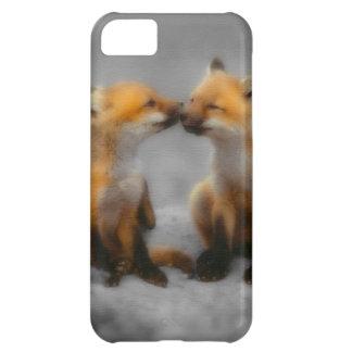 Peu d'amour de Fox Coques Pour iPhone 5C