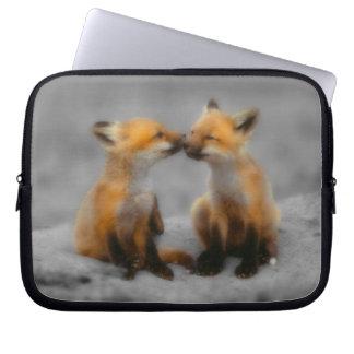 Peu d'amour de Fox Housses Ordinateur