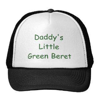 Peu de béret vert du papa casquette trucker