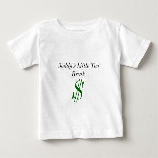 Peu de chemise d'allégement fiscal du papa t-shirt pour bébé