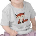 Peu de chemise de bébé de Fox T-shirts