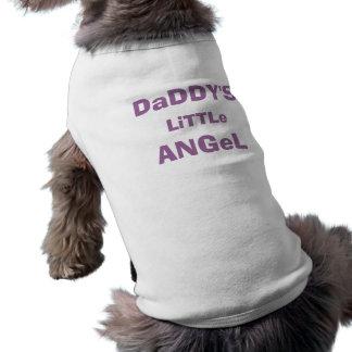 Peu de chemise de l'ange du papa pour l'animal fam t-shirt pour chien