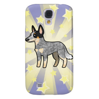 Peu de chien/Kelpie de Cle d'Australien d'étoile Coque Galaxy S4