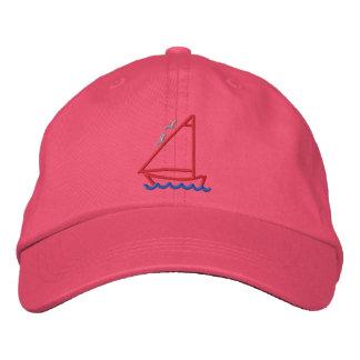 Peu de contour de bateau casquette brodée