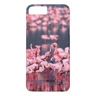 Peu de flamants (mineur de Phoeniconaias), Coque iPhone 7 Plus