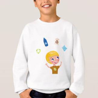 Peu de garçon d'Eco : T-shirt créatif
