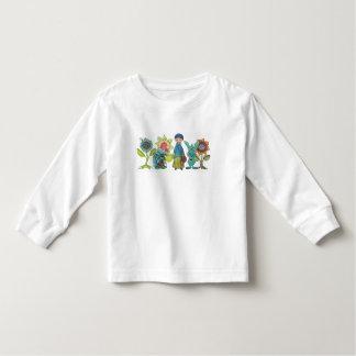 Peu de graine et amis de moutarde t-shirt pour les tous petits