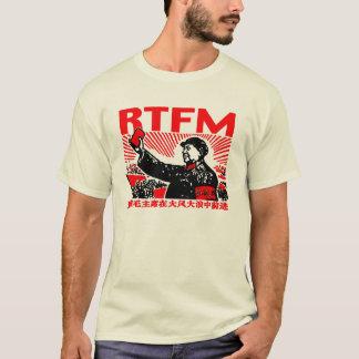 Peu de livre rouge de RTFM Mao T-shirt