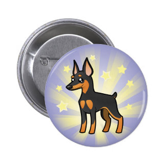Peu de Pinscher miniature /Manchester Terrier Badges