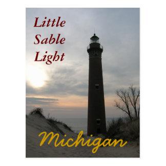 Peu de SableLight, cartes postales de MI