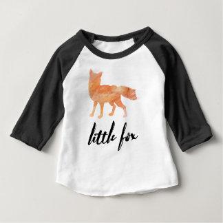 Peu de T-shirt de base-ball de bébé de Fox
