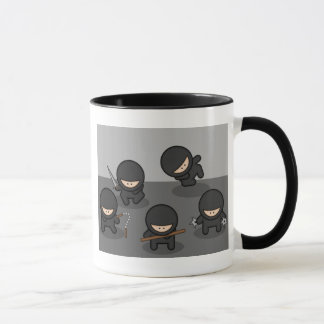 Peu de tasse de café de Ninja