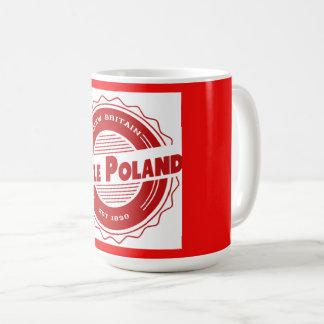 Peu de tasse de la Pologne