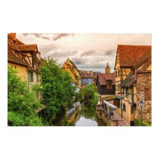Peu de Venise, petit Venise, à Colmar, la France Papier À Lettre Personnalisé