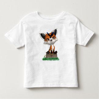 Peu d'enfants et bébé de T-shirt de Fox et de