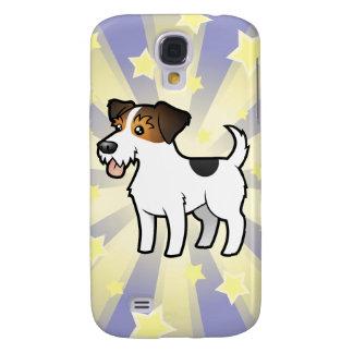 Peu d'étoile Jack Russell Terrier Coque Galaxy S4