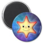 Peu d'étoile magnets pour réfrigérateur