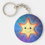 Peu d'étoile porte-clé