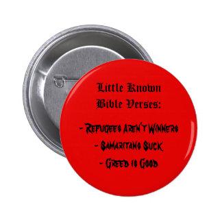 Peu vers connus de bible badge