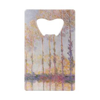 Peupliers de Claude Monet | sur les banques de