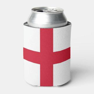Peut le glacière avec le drapeau de l'Angleterre,
