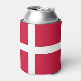 Peut le glacière avec le drapeau du Danemark