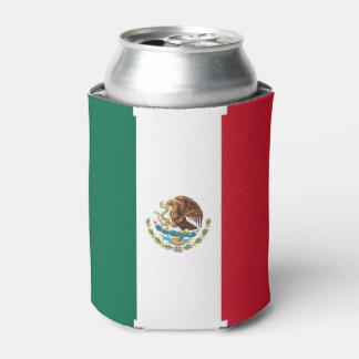 Peut le glacière avec le drapeau du Mexique