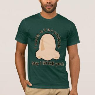 Peut le nez d'I vous T-shirt