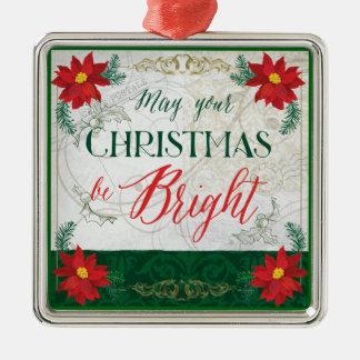 Peut votre Noël être ornement lumineux de décor