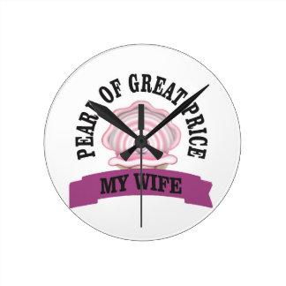 PGP d'épouse ouais Horloge Ronde