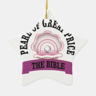 PGP la bible Ornement Étoile En Céramique