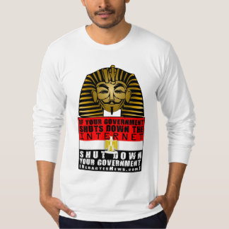 Pharaon Fawkes T-shirt