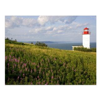 Phare à St Martins, Nouveau Brunswick, Carte Postale