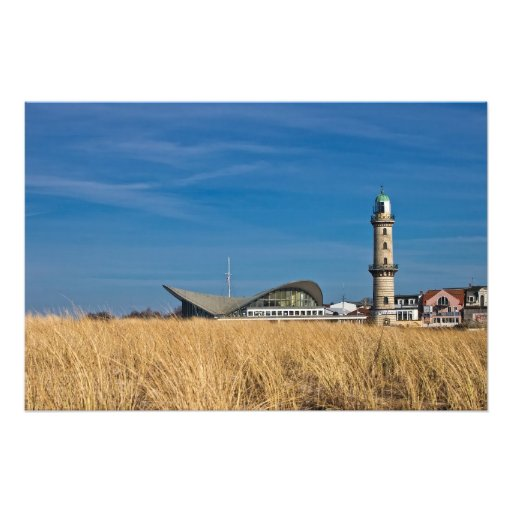 Phare dans Warnemuende (Allemagne) Photographies