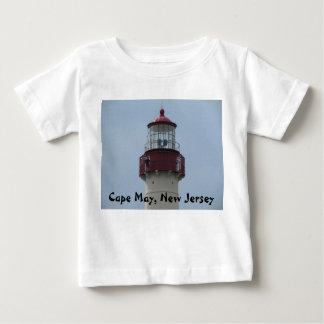 Phare de Cape May T-shirt Pour Bébé
